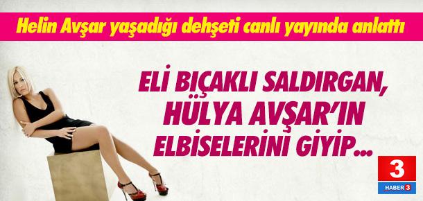 Helin Avşar: ''Ablamın elbisesini giyip döner bıçağı ile dans etti''