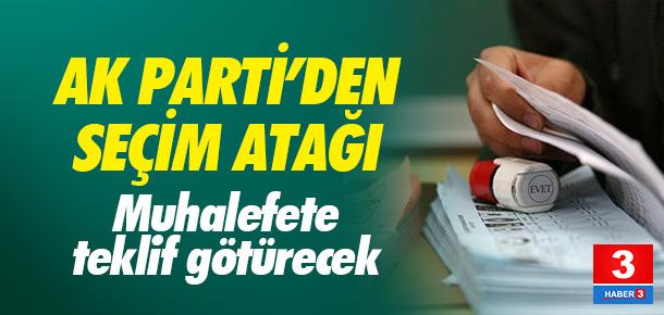 AK Parti'den seçim atağı !