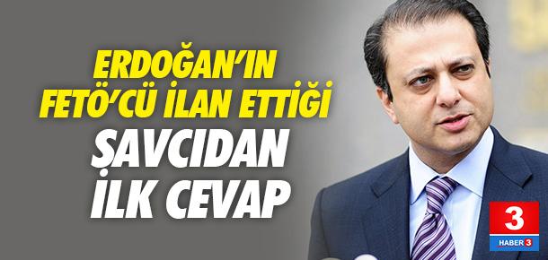 Savcı Bharara'nın sözcüsünden Erdoğan'a cevap