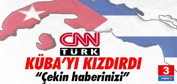 Küba, CNN Türk'te ekrana gelen kanser aşısı haberine tepki gösterdi
