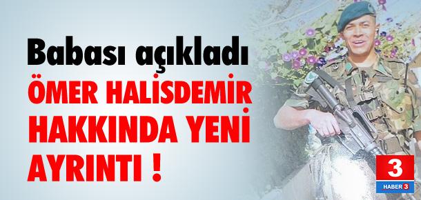 Ömer Halisdemir hakkında yeni ayrıntı !