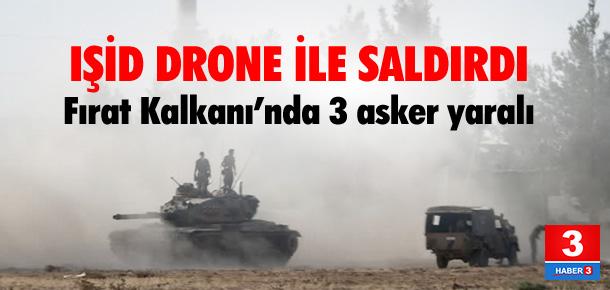 Fırat Kalkanı'nda 3 asker yaralı
