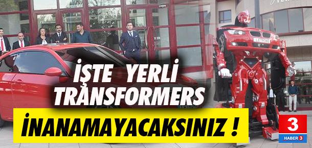 İşte Türk yapımı Transformers