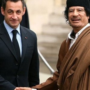 Sarkozy Kaddafi'den destek mi aldı ?