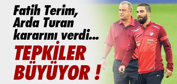 Fatih Terim, Arda Turan kararını verdi !