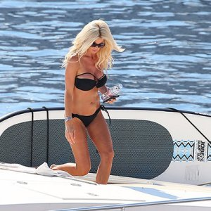 Victoria Silvstedt, Monaco'da tatil yapıyor