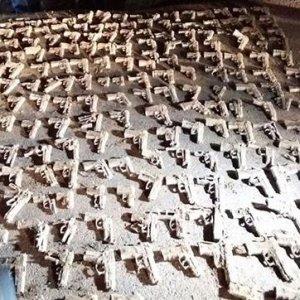 Bulunan silahlarla ilgili sürpriz tanık