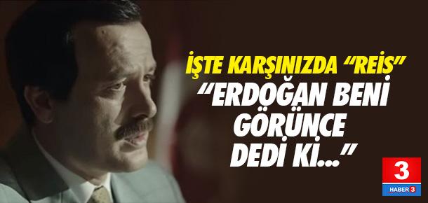 Erdoğan'ı canlandıran oyuncu benzerliğiyle şaşırttı