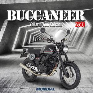 """Yolların Yeni Korsanı """"Buccaneer 250i"""" Mondial'de"""
