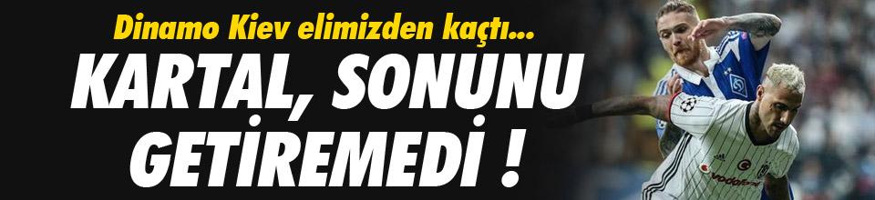 Beşiktaş sonunu getiremedi !