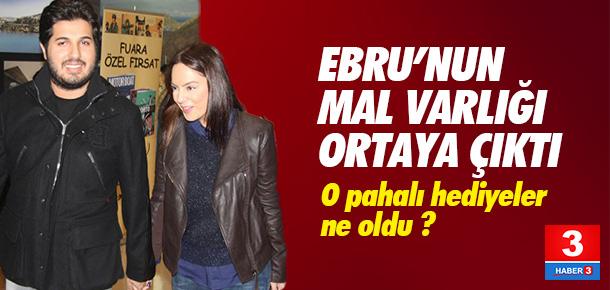 Ebru Gündeş'in mal varlığı ortaya çıktı