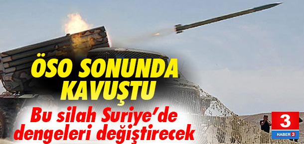 Suriyeli muhaliflerin yeni silahı!