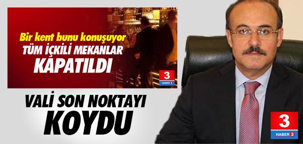 Yozgat Valisi'nden ''bar, pavyon'' açıklaması