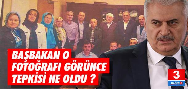 Yıldırım, AK Partililerin Gülen'le çektirdiği fotoğrafı görünce ne yaptı ?