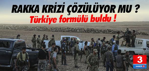 Türkiye'den Rakka için yeni formül