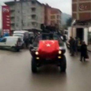 6 teröristi öldüren askerler kurbanla karşılandı