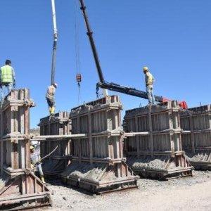 Her gün 75 blok beton gidiyor !
