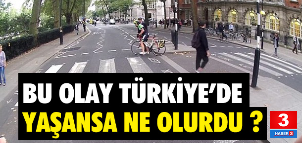 Bu görüntüler Türkiye'de yaşansa ne olurdu ?