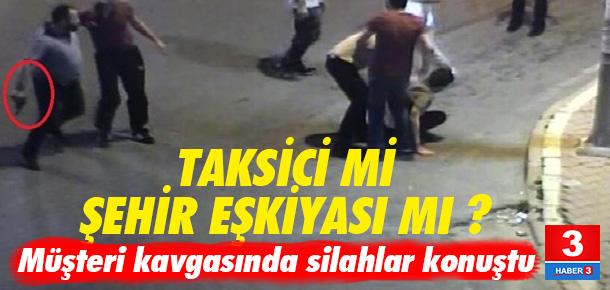 İstanbul Esenyurt'ta taksicilerin kavgasında silahlar konuştu
