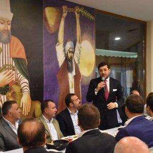 Muharrem orucu Beşiktaş Cem Evi'nde açıldı