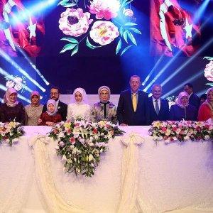 Erdoğan nikah şahitliği yaptı