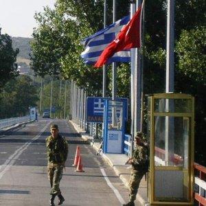 5 Türk daha Yunanistan'a kaçtı