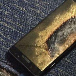 Samsung Note 7 bu kez uçakta alev aldı !