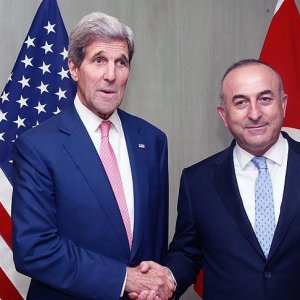 Çavuşoğlu ile Kerry telefonda görüştü
