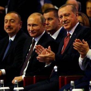 Erdoğan'la Putin beraber geldiler