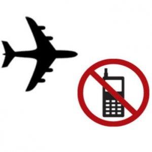 O telefonla uçağa yaklaşamayacaksınız bile
