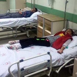 Sandviçleri yiyen öğrenciler hastaneye koştu