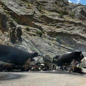 PKK'nın kaçırıdğı beton mikserleri bulundu