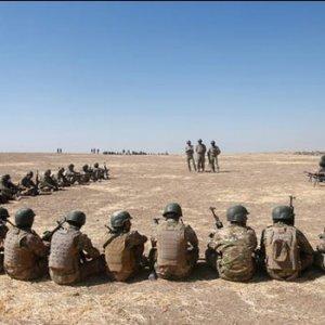 Türk askerinin eğittiği savaşçılar Musul operasyonuna katılacak