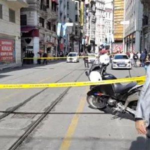 İstiklal Caddesi'nde bomba alarmı