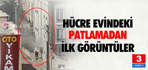 Gaziantep'te polisin operasyon yaptığı evde patlama