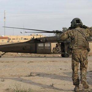Musul'da ABD askerleri böyle görüntülendi