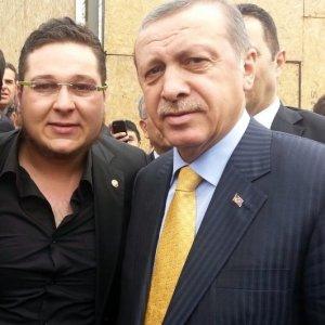 Hayranı olduğu Erdoğan'ın taklidini yaptı