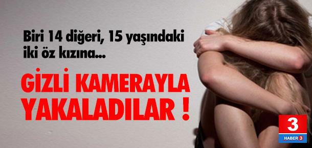 Öz kızlarına tacizde bulunan babaya 56 yıl hapis