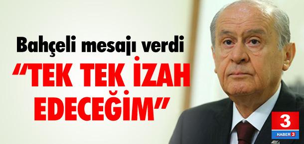 """Bahçeli'den """"başkanlık"""" açıklaması"""
