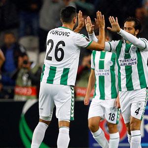 Konya'ya 1 gol yetmedi...