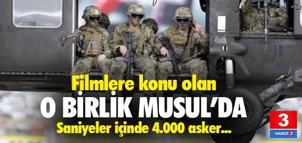 ABD'nin ''Airborne'' özel birliği Musul'da
