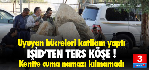 DEAŞ'in uyuyan hücreleri Kerkük'te saldırıya geçti