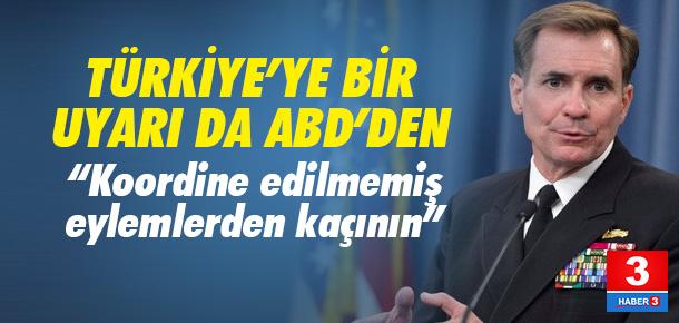 Türkiye'nin PYD operasyonuna ABD'den uyarı