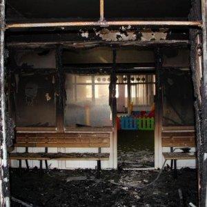 Van'da PKK'lılar anaokulu yaktı