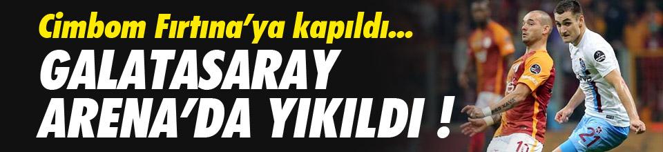 GALATASARAY ARENA'DA YIKILDI !