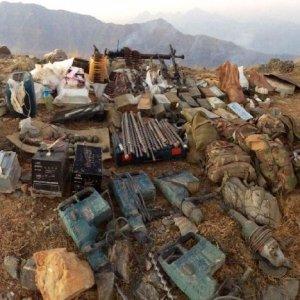 Yüksekova'da PKK cephaneliği ele geçirildi