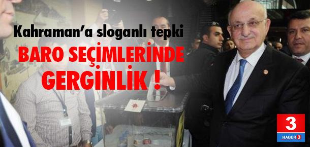 İstanbul Baro seçimlerinde gerginlik