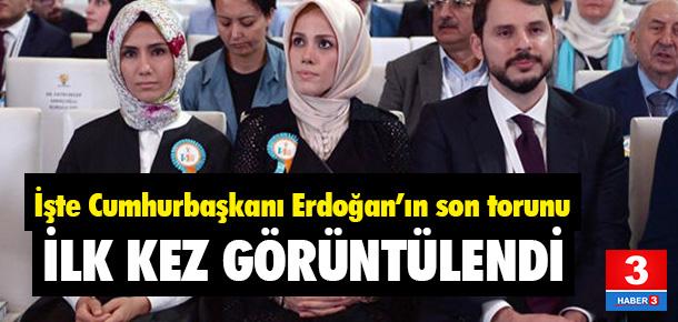 Cumhurbaşkanı Erdoğan'ın son torunu
