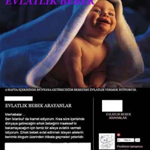 İnternette ''doğmamış'' bebek pazarlığı