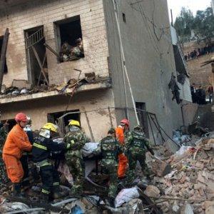 Çin'de şiddetli patlama